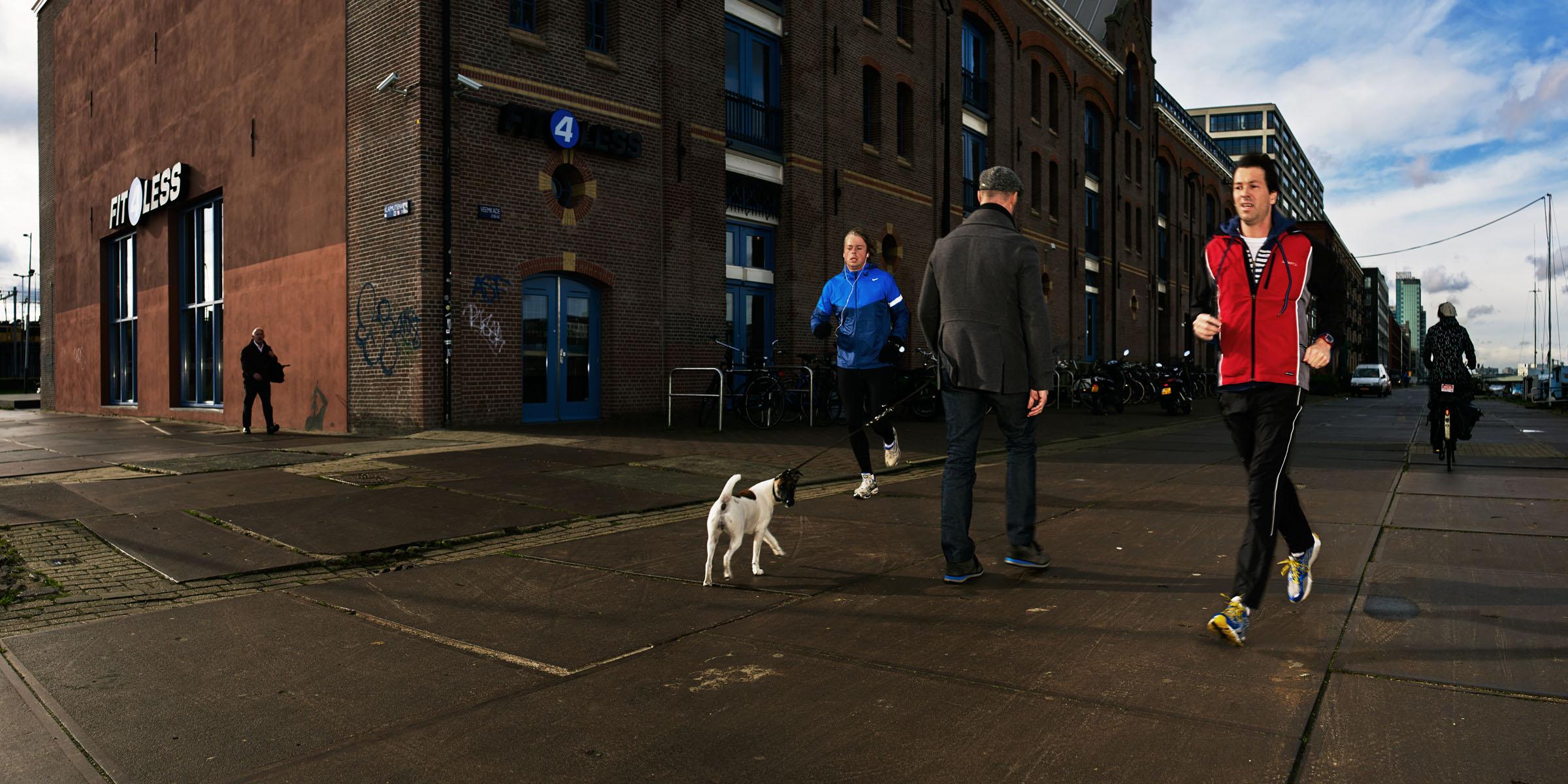 Izarin van der linde photography film for Rotterdam film